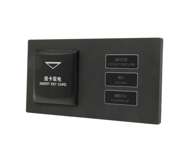 磨砂黑-插卡取电+大三键