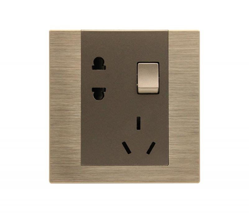 智能开关厂家告诉您五孔智能开关插座如何接线?